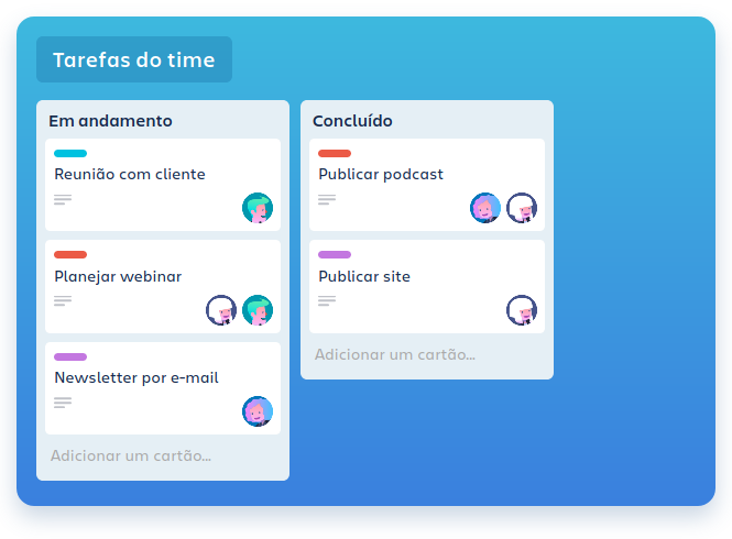 Trello Oktopus Cloud - The IaaS Ground - Aplicativos para lhe ajudar no Home Office